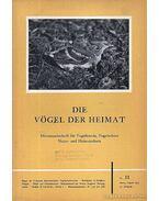 Die Vögel der Heimat 23. II. 1953 (Hazám madarai 23. évf. II. szám 1953)
