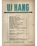 Új Hang 1954 III. évf. 3-4. szám
