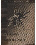 Aus dem Spinnenleben Warmerer Lander