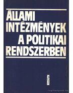 Állami intézmények a politikai rendszerben