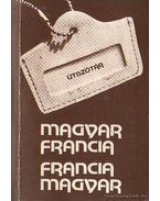 Magyar francia francia magyar útiszótár