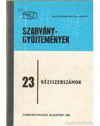 Kéziszerszámok 23.
