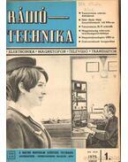 Rádiótechnika 1970. (teljes évfolyam)