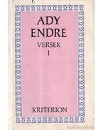 Versek I. kötet (Ady Endre)
