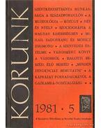 Korunk 1981/5