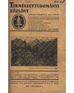 Természettudomány 1930