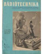Rádiótechnika 1962. évfolyam (hiányos)