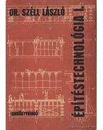 Építéstechnológia I.