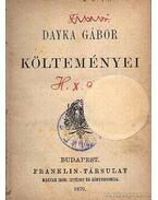 Dayka Gábor költeményei