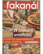 Fakanál 1999/10. - 77 finom étel sertéshúsból