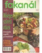 Fakanál 1998/9. - bőséges szüreti étkek