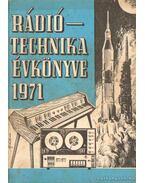 Rádiótechnika évkönyve 1971.