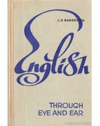 English - Through eye and ear