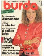 Burda 1989/11 (német nyelvű)