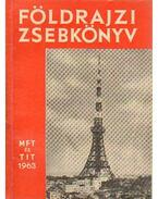 Földrajzi zsebkönyv 1963.