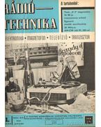 Rádiótechnika 1968. (teljes évfolyam)