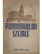 Pannonhalmi szemle 1941. III. sz.