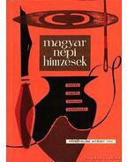 Magyar népi hímzések - Népművelési Intézet 1963