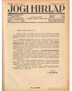 Jogi hirlap 1931. V. évfolyam 1-52. szám (teljes)