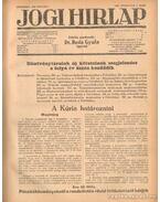 Jogi hirlap 1939. XIII. évfolyam 1-52. szám (teljes)