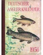 Deutscher Angler-Kalender 1958 (Német horgászkalendárium 1958)