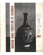 Modern kínai porcelán és kerámia