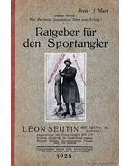 Ratgeber für den Sportangler (Sporthorgász tanácsadó)