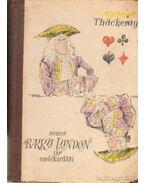Nemes Barry Lyndon úr emlékiratai - Thackeray, William Makepiece