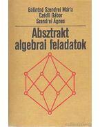 Absztrakt algebrai feladatok