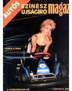 Autós Színész Újságíró Magazin 1987