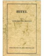 Hitel ( mini ) - Széchenyi István