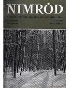 Nimród 1972. évfolyam (teljes) - egybekötve