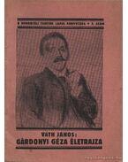 Gárdonyi Géza életrajza