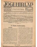 Jogi hirlap 1934. VIII. évfolyam 1-52. szám (teljes)