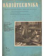 Rádiótechnika 1957. (teljes évfolyam)