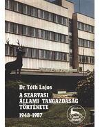 A Szarvasi Állami Tangazdaság története 1948-1987.