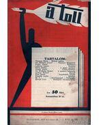 A toll I. évf. 32. sz. (1929. november 24.)