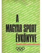 A magyar sport évkönyve 1972.