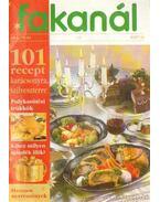 Fakanál 1997/6. 63. - 101 recept karácsonyra, szilveszterre