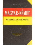 Magyar-német kereskedelmi szótár
