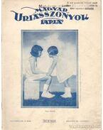 Magyar Uriasszonyok lapja 1931. október VIII. évf. 28. szám