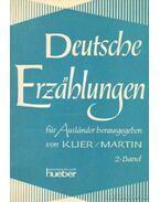 Deutsche Erzahlungen für Auslander herausgegeben 2. Band