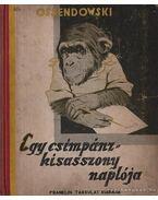 Egy csimpánzkisasszony naplója