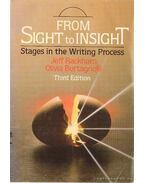 From sight to insight / Látástól az éleslátásig
