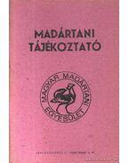 Madártani tájékoztató 1984. január-március