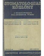 Stomatologiai közlöny 1937.
