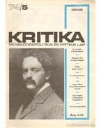 Kritika 74/5 - Pándi Pál