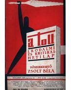 A toll I. évf. 18. sz. (1929. augusztus 18.) - Zsolt Béla
