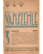 Vasi szemle 1934.