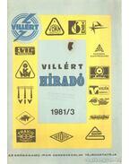 Villért híradó 1981/3